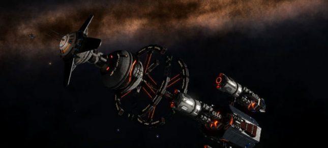 Massive Derelict Spacecraft Discovered in Elite Dangerous