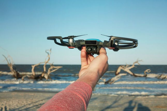 DJI Spark Drone is Controlled with Hand Gestures