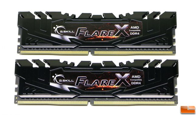 G.SKILL Flare X Series 16GB 3200MHz CL14 DDR4