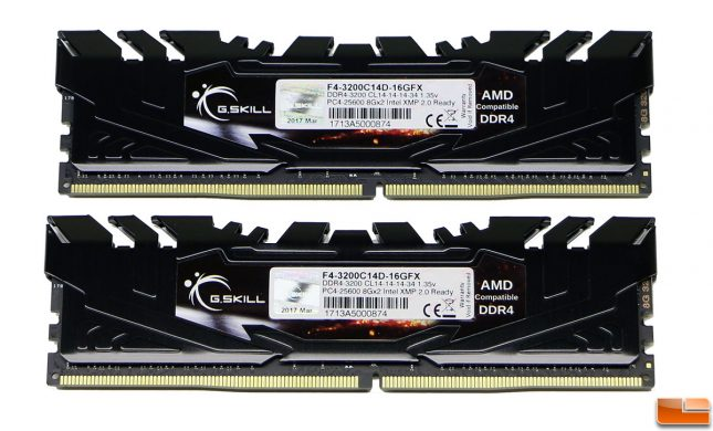 G.SKILL Flare X Series 16GB 3200MHz CL14 DDR4 Memory Kit