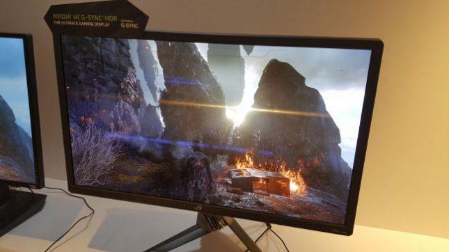 NVIDIA HDR G-Sync Gaming Monitor Debuts at Computex