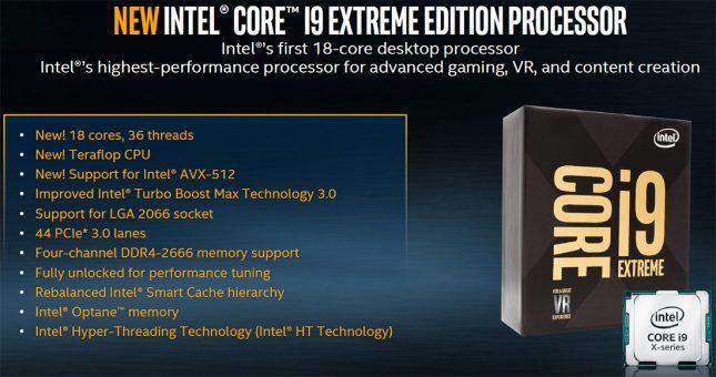 Intel Core i9 Processor