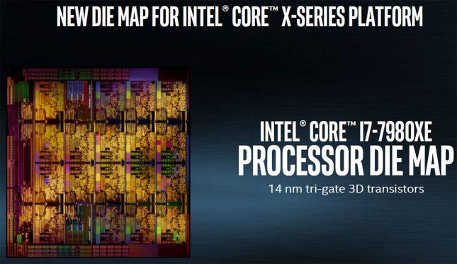 Intel Skylake-X die