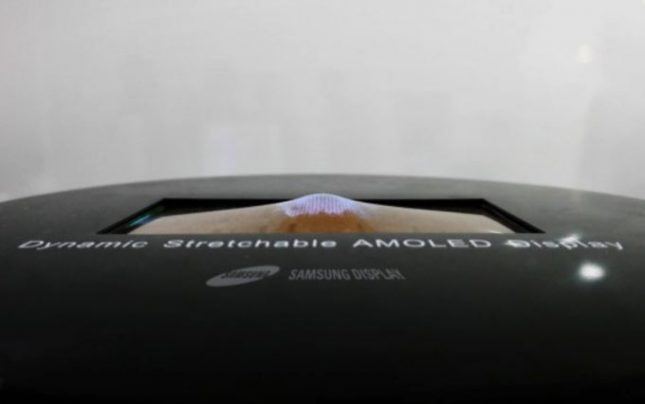 Samsung Set to Unveil Stretchable AMOLED