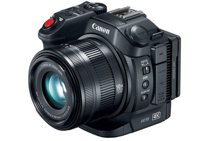 Canon xc15 4k uhd camcorder