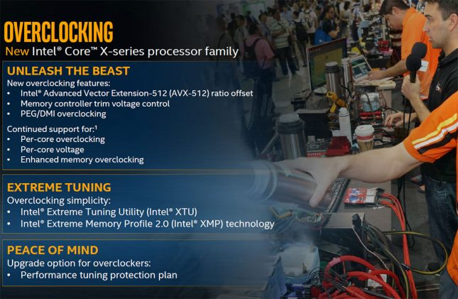 Intel Core X-Series Overclocking