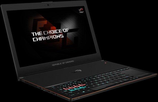 ASUS ROG Zephyrus Gaming Notebook Brings Max-Q GTX 1080 Graphics