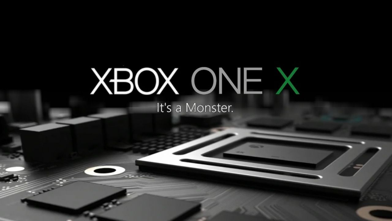 microsoft unleashes xbox one x at e3 2017 legit. Black Bedroom Furniture Sets. Home Design Ideas