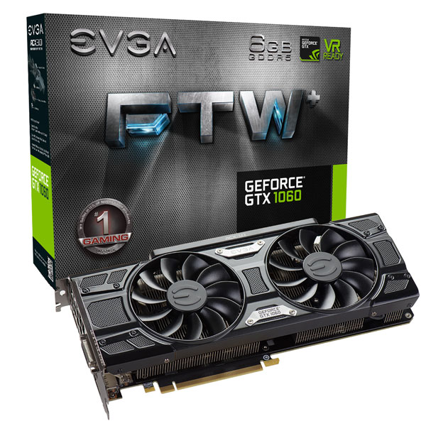 EVGA GeForce GTX 1060 FTW+ GAMING