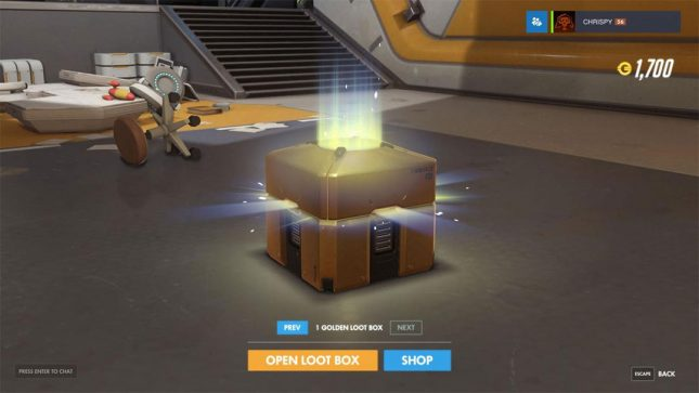 Blizzard/Twitch Partnership Means Free Golden Loot Box for Overwatch Players