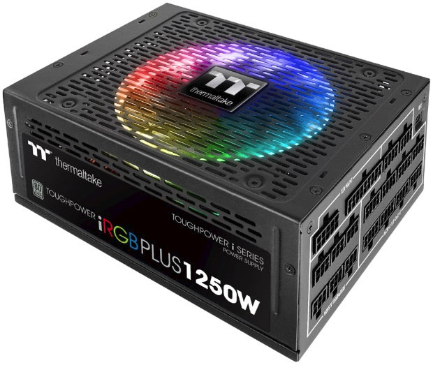 Thermaltake Outs PSU and Liquid Cooling System with RGB LEDs