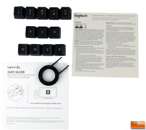 Logitech G413 Contents
