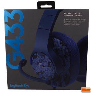 Logitech G433 Headset - Box Front