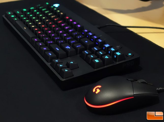Logitech G Pro Mouse - Keyboard