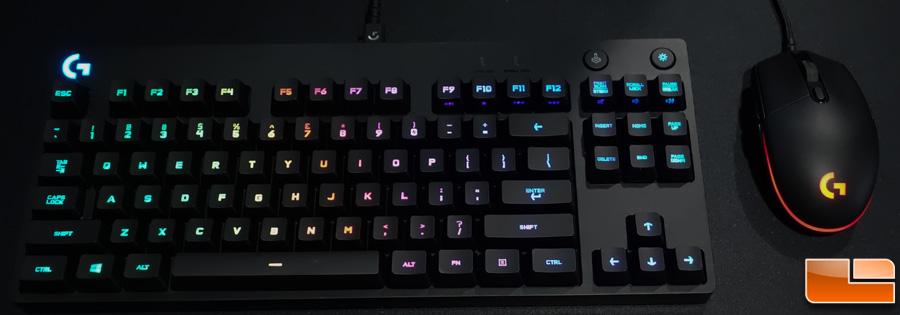 logitech g pro keyboard software download