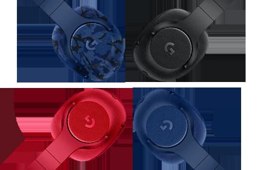 Logitech G433 Headset Colors