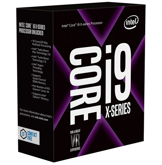 Intel Core i9-7900X Retail Box Processor