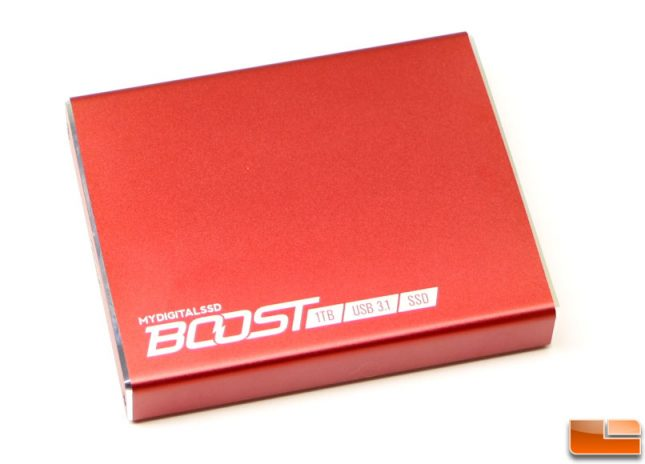 MyDigitalSSD Boost USB 3.1 Portable SSD