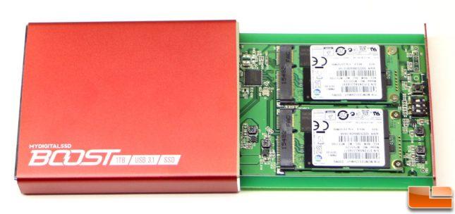 MyDigitalSSD Boost USB 3.1 mSATA SSDs