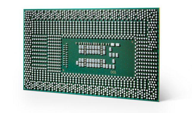 8th Gen Intel Core U Series Processor Back