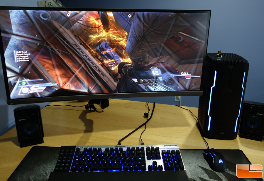 corsair one pro 1080 ti compact gaming pc review page 3. Black Bedroom Furniture Sets. Home Design Ideas