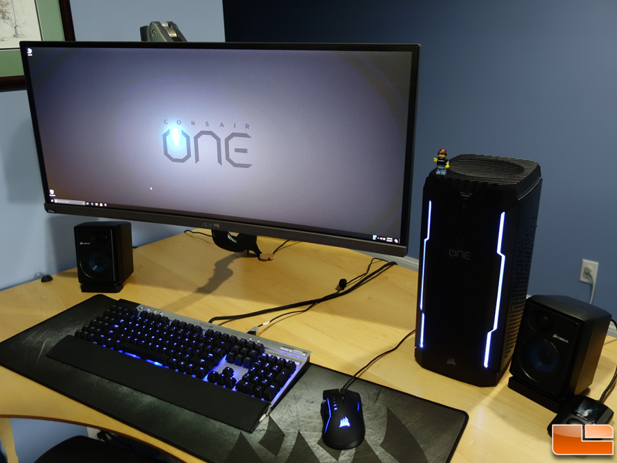 corsair one pro 1080 ti compact gaming pc review