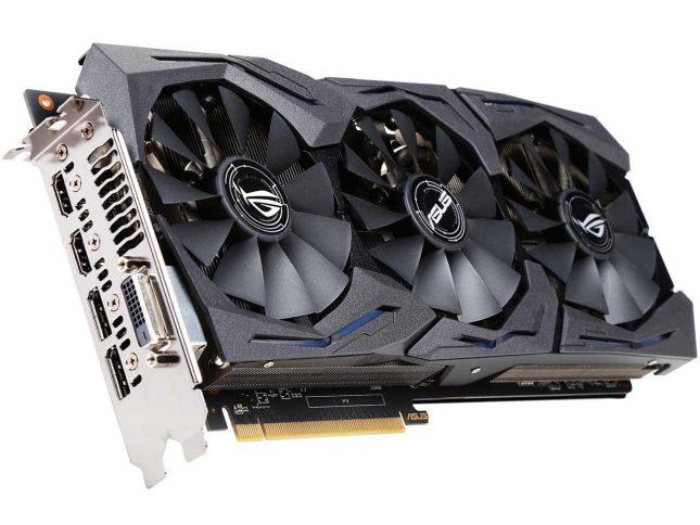 ASUS ROG Radeon RX 480 STRIX-RX480-O8G-GAMING 8GB