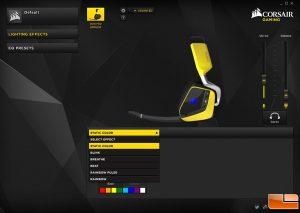 Corsair Void Pro RGB Wireless SE CUE RGB Effects