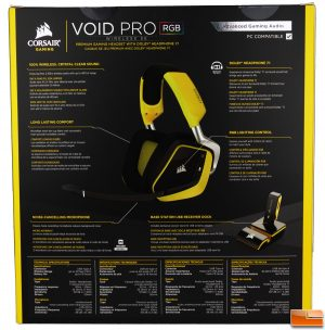 Corsair Void Pro RGB Wireless SE Box