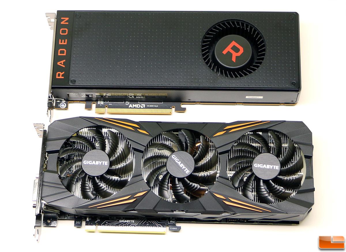 AMD Radeon RX Vega 56 versus NVIDIA GeForce GTX 1070 - Legit