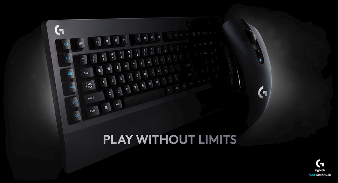 Logitech G613 Wireless Gaming Keyboard and G603 Gaming Mouse Debut