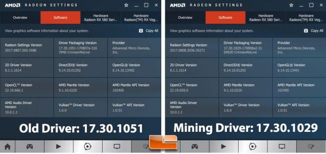 AMD mining driver