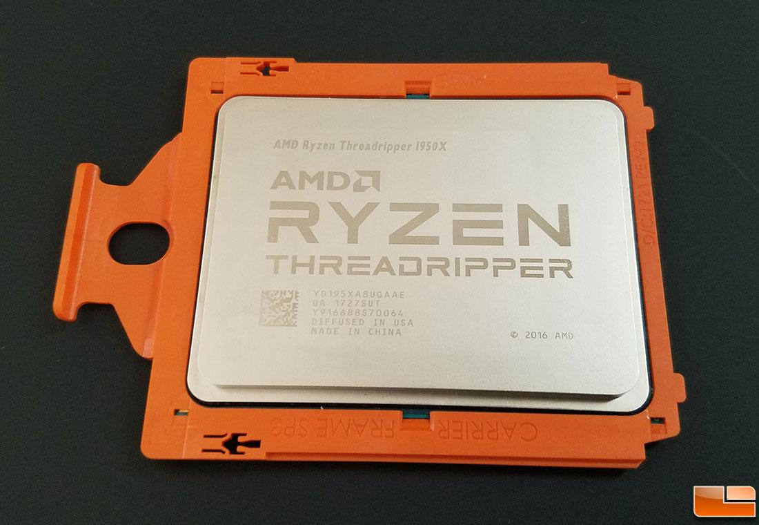 Mining On The AMD Ryzen Threadripper 1950X Processor With Nicehash