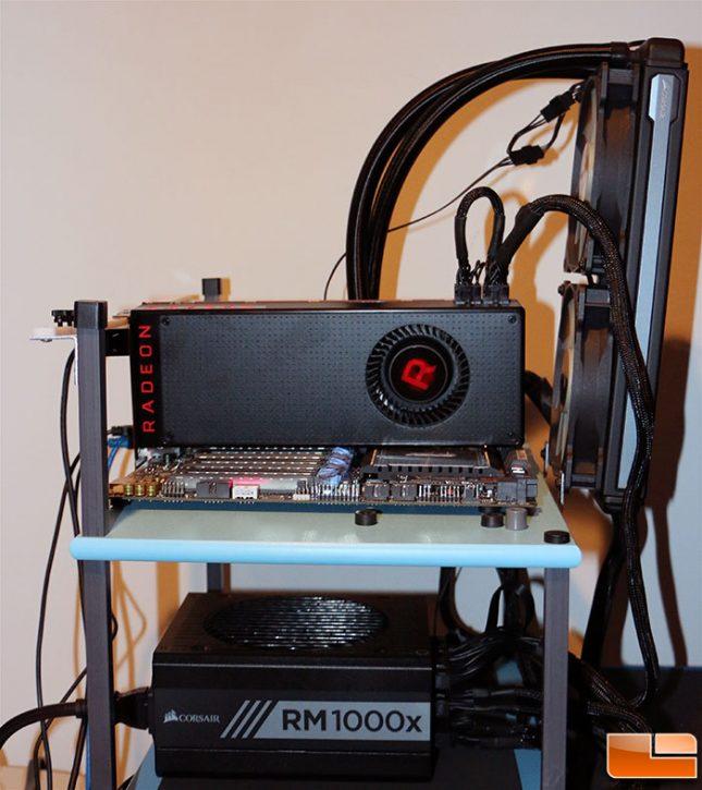Vega GPU Test System