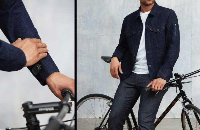 Levi's Commuter Trucker Jacket features Jacquard tech to interface with smartphones