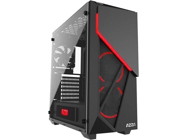 azza inferno 310 mid tower case review
