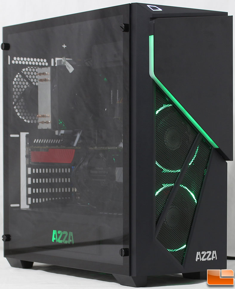 Azza Inferno 310 Mid Tower Case Review Page 5 Of 5