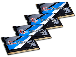 G.SKILL DDR4-3800MHz 32GB (4x8GB) SO-DIMM Memory Kit