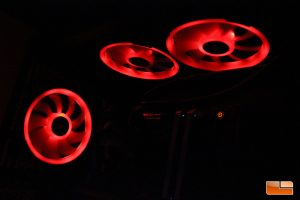 Corsair LL120 RGB - Static Red