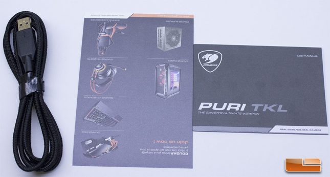 Cougar Puri TKL - Accessories