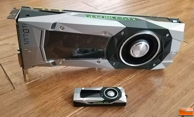 NVIDIA GeForce GTX 1070 Ti FE
