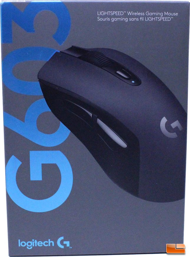 Logitech G603 LightSpeed Wireless Gaming Mouse - Retail Box