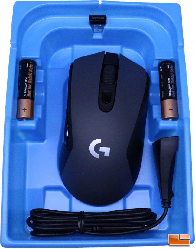 Logitech G603 LightSpeed - Clamshell