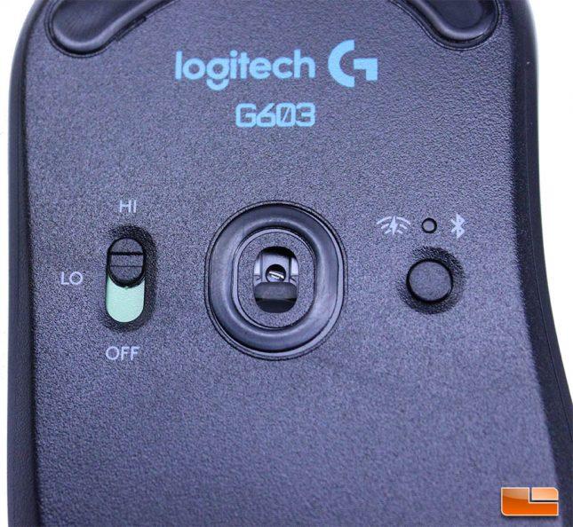 Logitech G603 - Power Switch