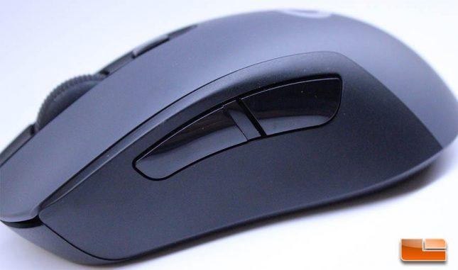 Logitech G603 LightSpeed - Side Buttons