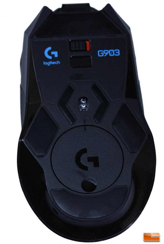 Logitech G903 - Bottom View