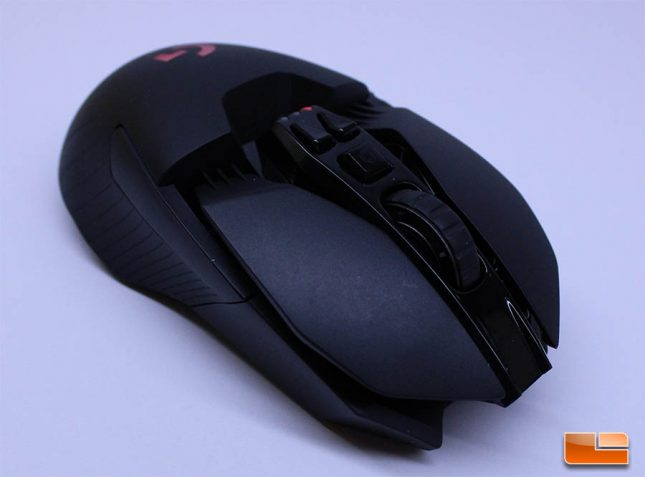 Logitech G903 Scroll Wheel Area