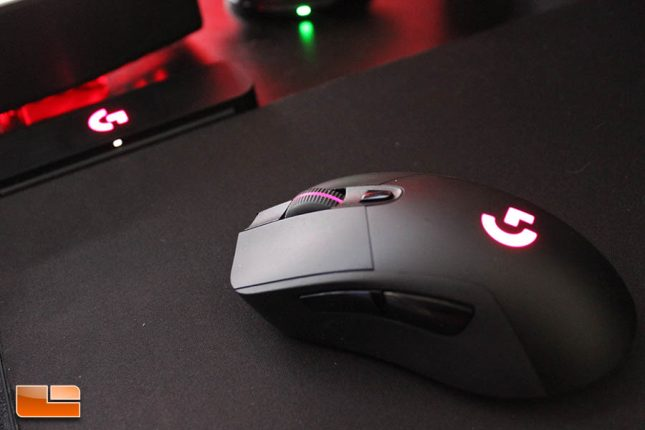 Logitech G703 on PowerPlay