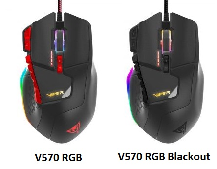 Patriot V570 RGB Gaming Mice