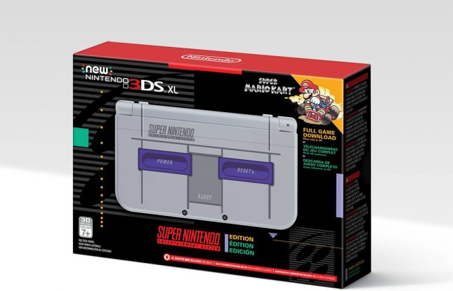 US to Get SNES Themed 3DS XL for $199.99